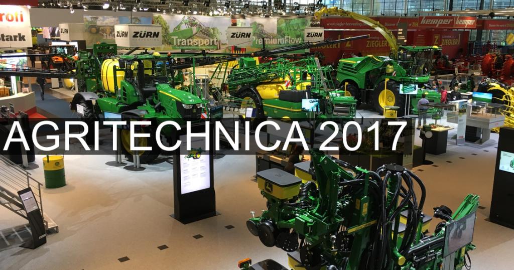 Agritechnica 802 John Deere